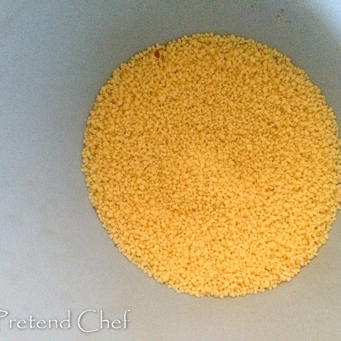 couscous for Couscous with bell peppers