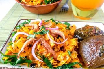 Healthy, delicious, Ighu (Abacha).