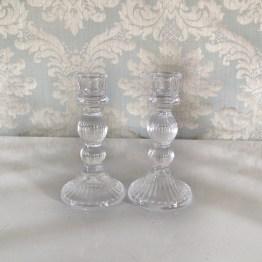 vintage glass candlestick hire nz