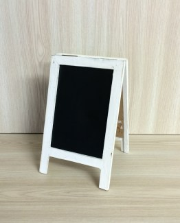 A FRAME CHALKBOARD SMALL WHITE