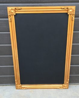 BAROQUE CHALKBOARD ANT GOLD