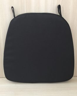 CHAIR CUSHION BLACK
