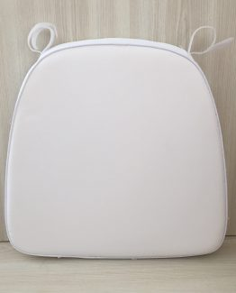 CHAIR CUSHION WHITE
