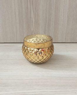 gold mercury glass tealight holder hire auckland new zealand