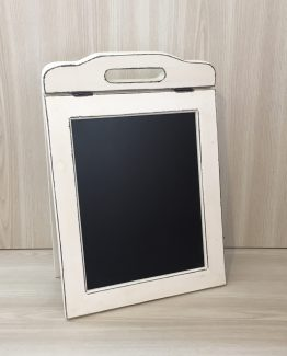 DOUBLE SIDED CHALKBOARD SMALL WHITE