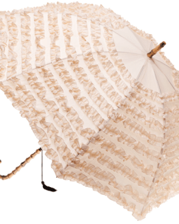 beige nude umbrella hire