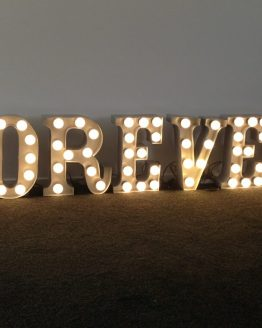 marquee letter lights nz