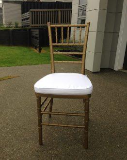 gold chiavari tiffany chair hire nz
