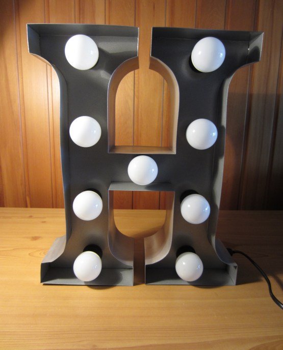 marquee letter light hire new zealand