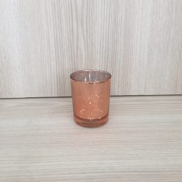 hire rose gold tealight holder