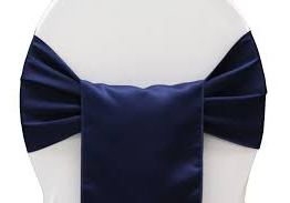 navy chair sash hire auckland