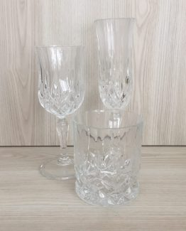 crystal glassware hire nz