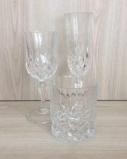 crystal glassware hire nz