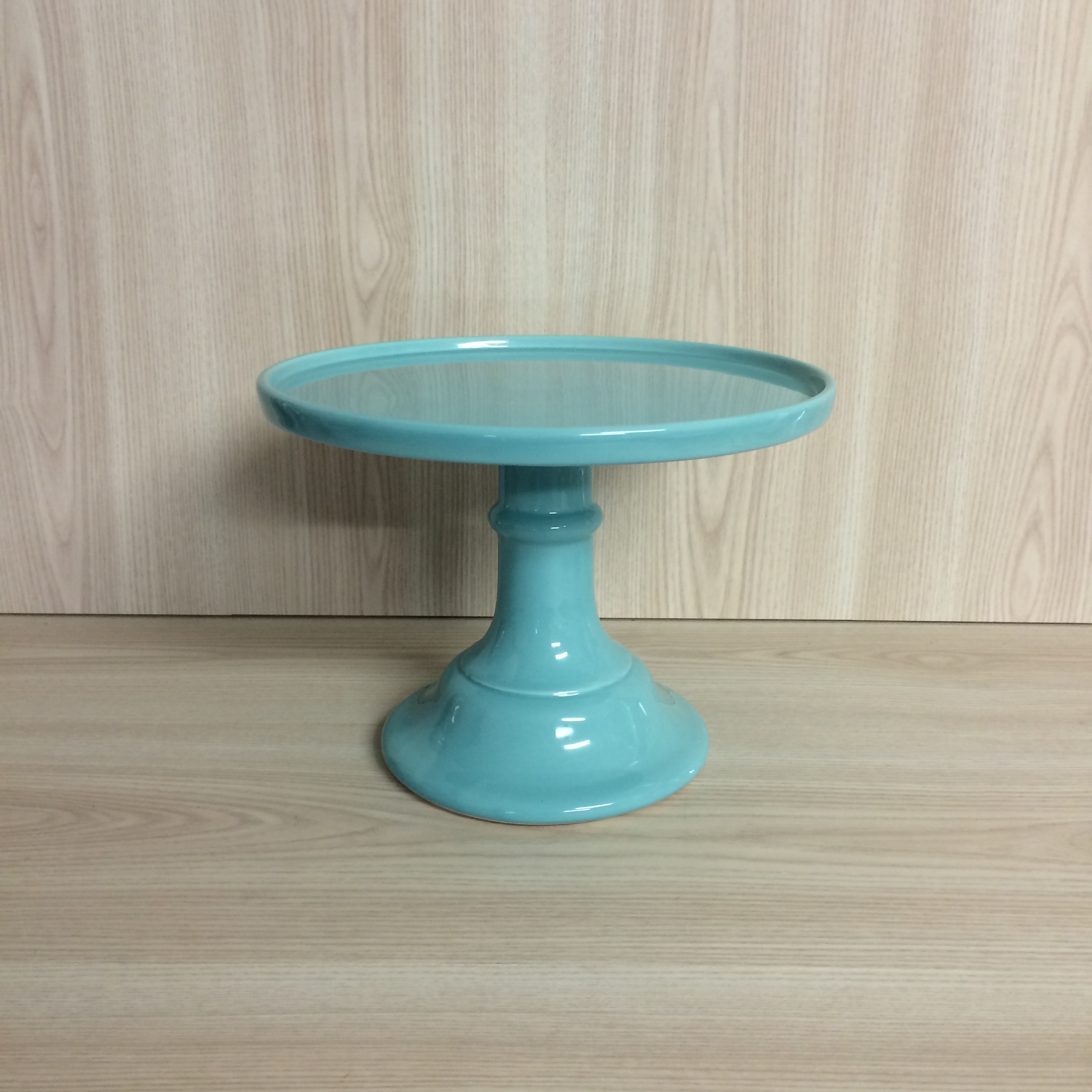 pedestal glass image milk copy of cake stand pink depression products