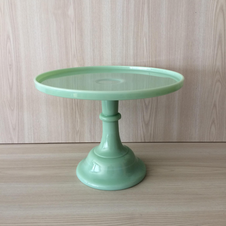 shop milk yellow bella glass pedestal img stand leo buttercream cake mosser copy