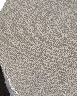 silver gold sequin tablecloth hire
