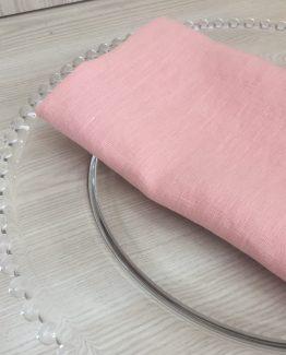 pink blush stonewash linen hire new zealand
