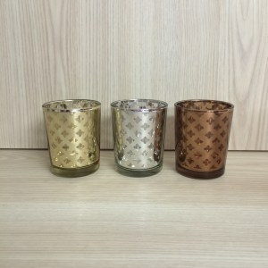 mercury glass tealight holder hire nz
