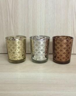 mercury glass tealight holder hire nz