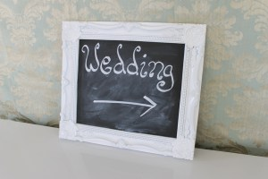 white chalkboard sign hire auckland nz