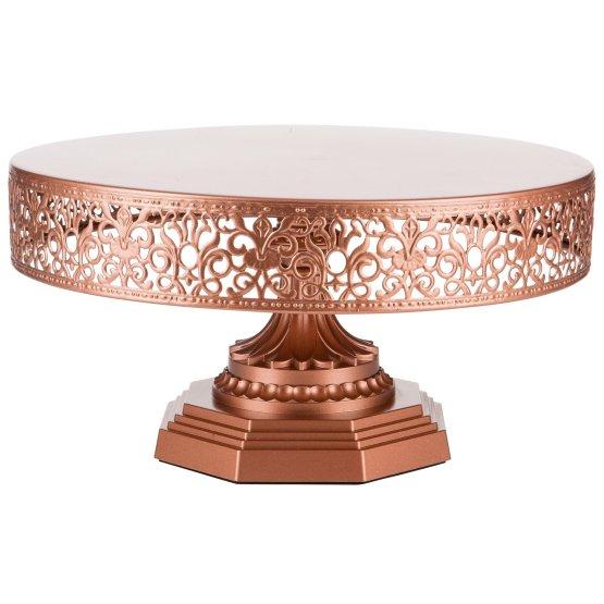 hire copper cake stand