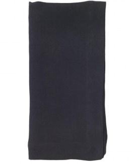 Black Stonewash Linen Napkin