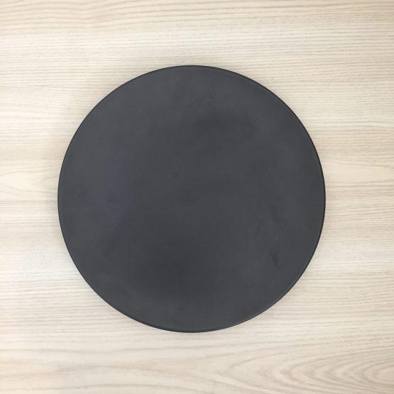 black dinner plate hire auckland