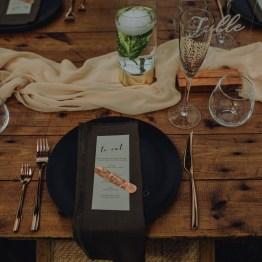 matte black dinner plate hire nz