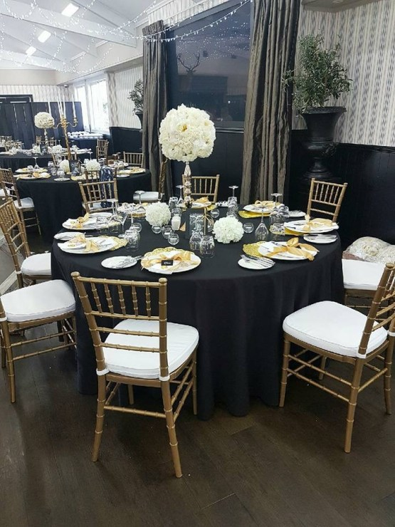 gold chair hire nz