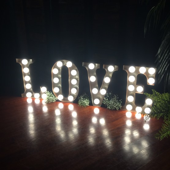 Letter light hire nz