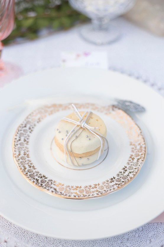 vintage lunch plate hire