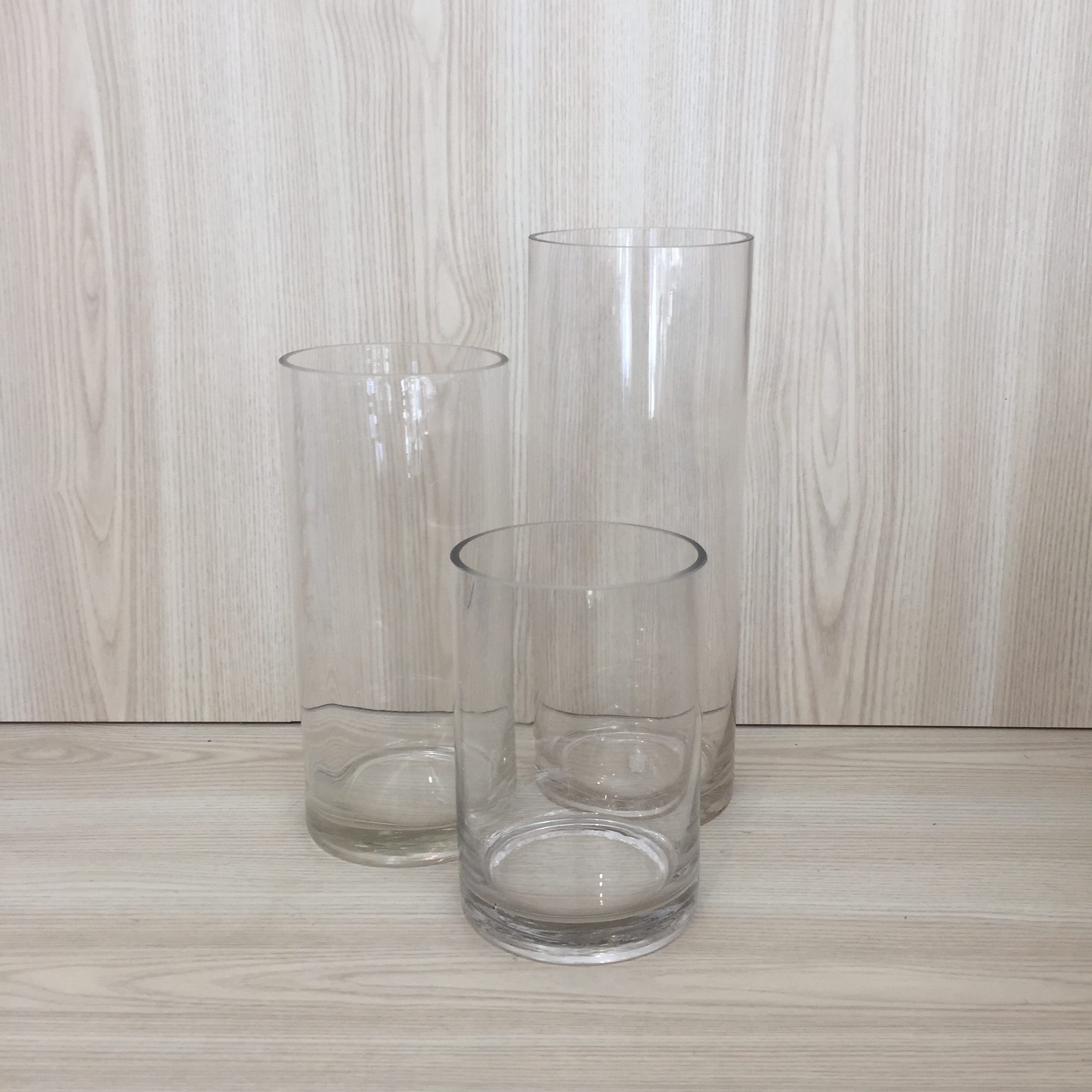 with floating set vase candles of vases cylinder store