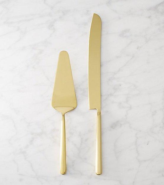 gold cake knife hire nz