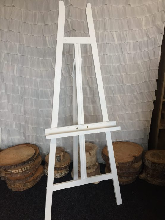 white easel hire nz