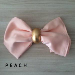 peach napkin hire nz