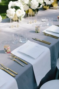 gold flatware hire nz