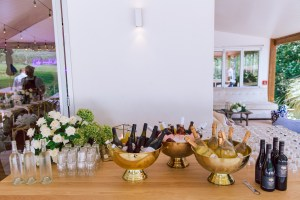 gold champagne bowl hire nz