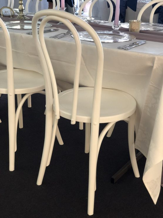 white bentwood chair hire nz