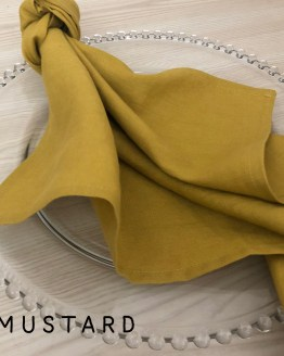 mustard linen napkin hire auckland nz