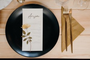 matte gold cutlery hire auckland
