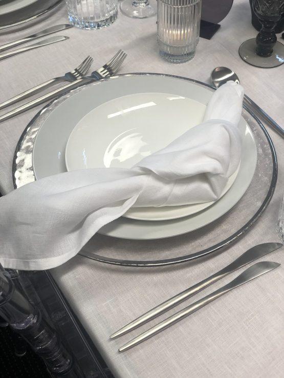 matte silver cutlery hire auckland nz