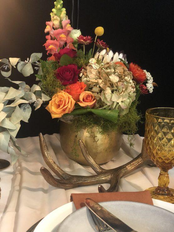 brass vase hire nz