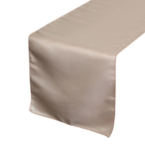 blush table runner hire nz
