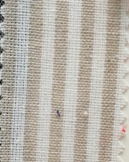 stripe linen napkin hire