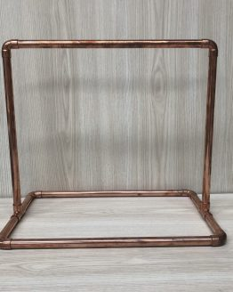 copper wedding sign stand hire nz