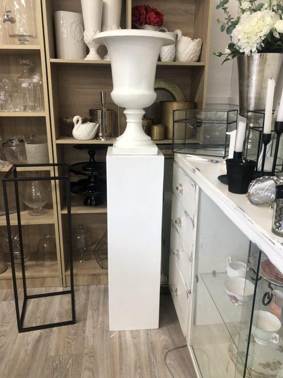 white plinth hire nz