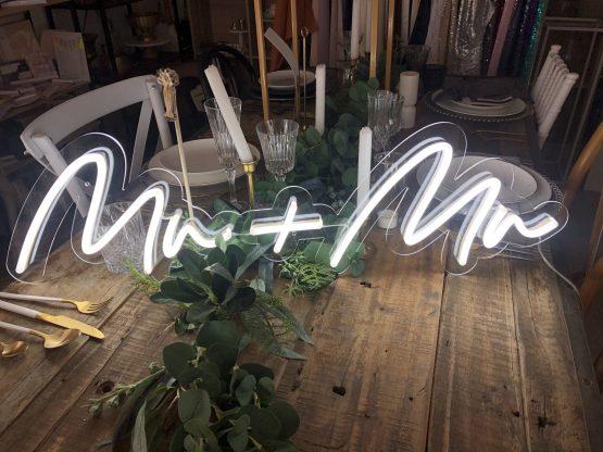 same sex wedding neon sign hire auckland nz
