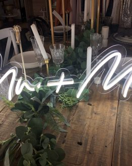 same sex wedding neon sign hire auckland nz