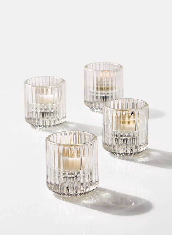 pleated tealight holder hire nz