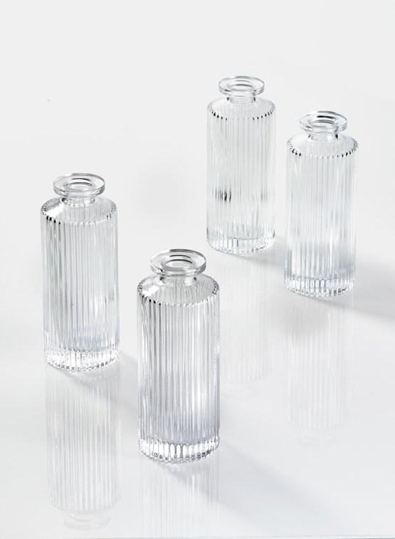 pleated bottle vase hire nz